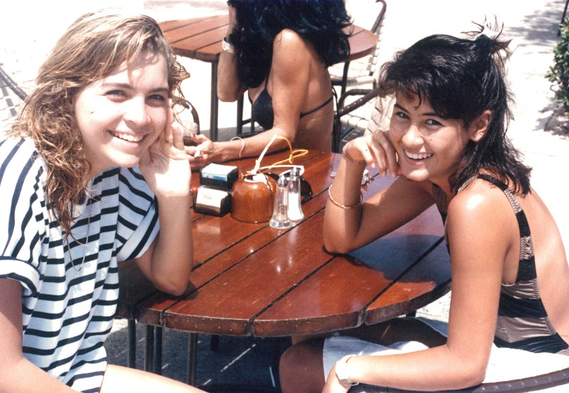 1986 Tabor Parker and Malia Kamisugi