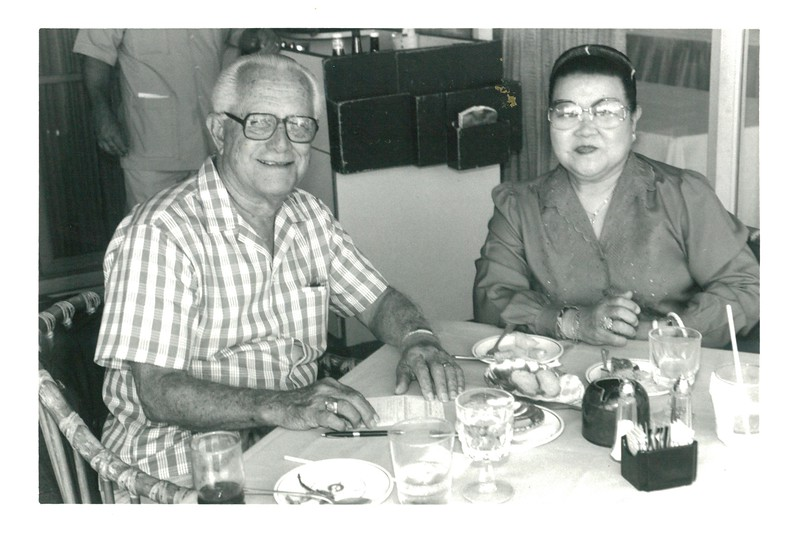 1986 Saturday Lunch on the Hau Terrace