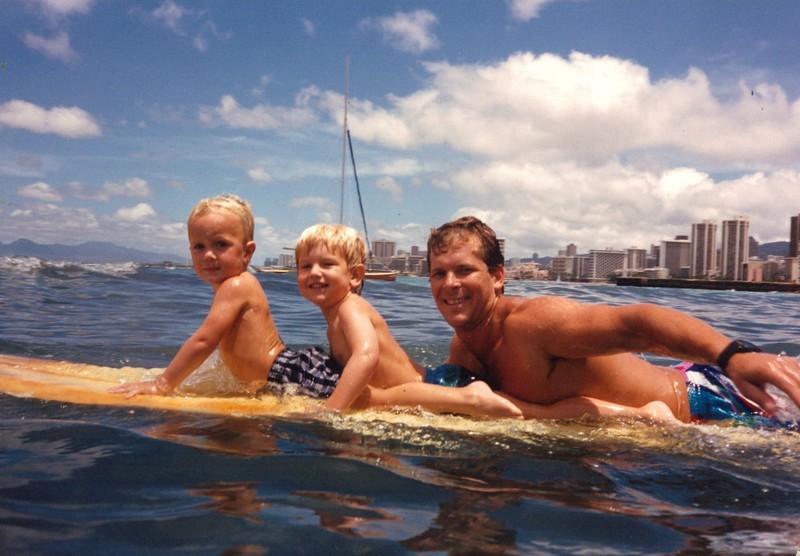 1986 Summer Surfing