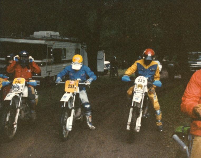 1986 Sierra Blanca Motorcycle Race