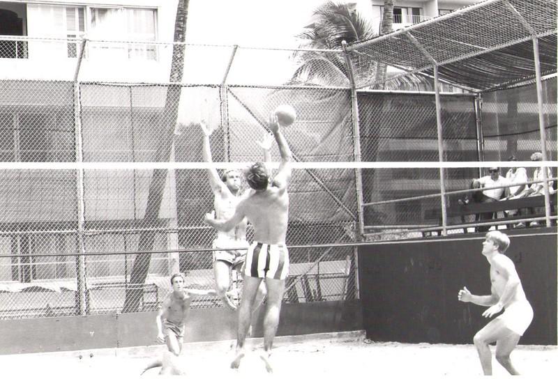 1986 Summer Volleyball Tournaments