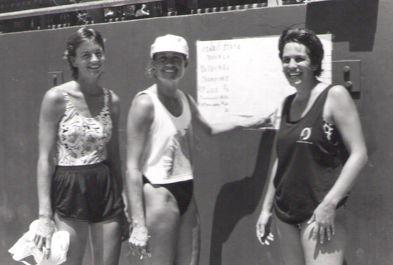 1986 Women's State VB Championships 8-23-1986