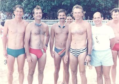 1986 Waikiki Roughwater Swim  9-1-1986
