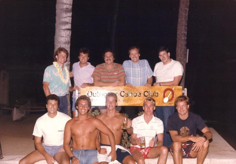 1986 OCC Water Polo Team 4-11-1986