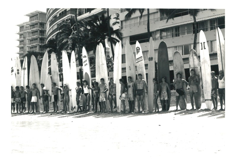 1986 Summer Surf Paddleboard Race