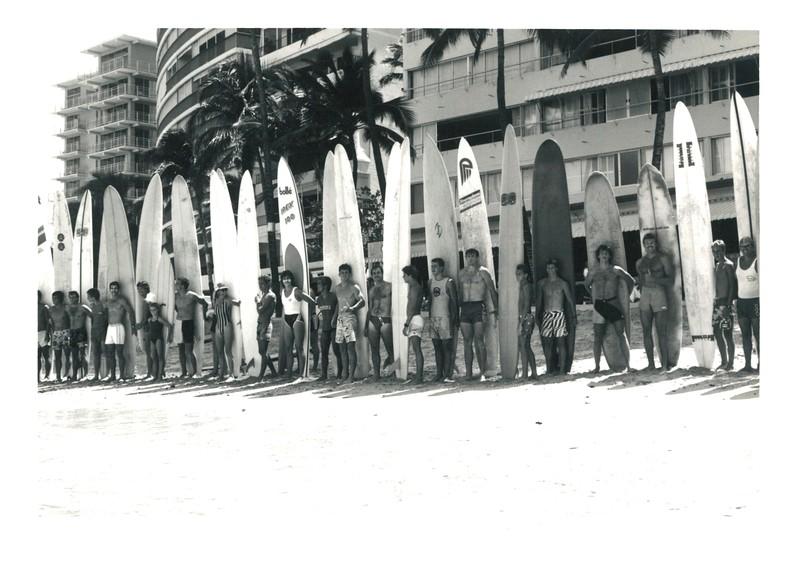 1986 Summer Surf Paddleboard Race