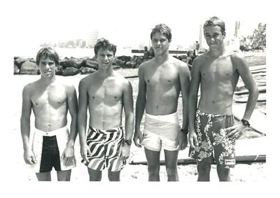 6th Annual Summer Surf PB Race 6-21-1986