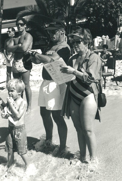 1986 Waikiki Winter Ocean 10K Paddleboard Race
