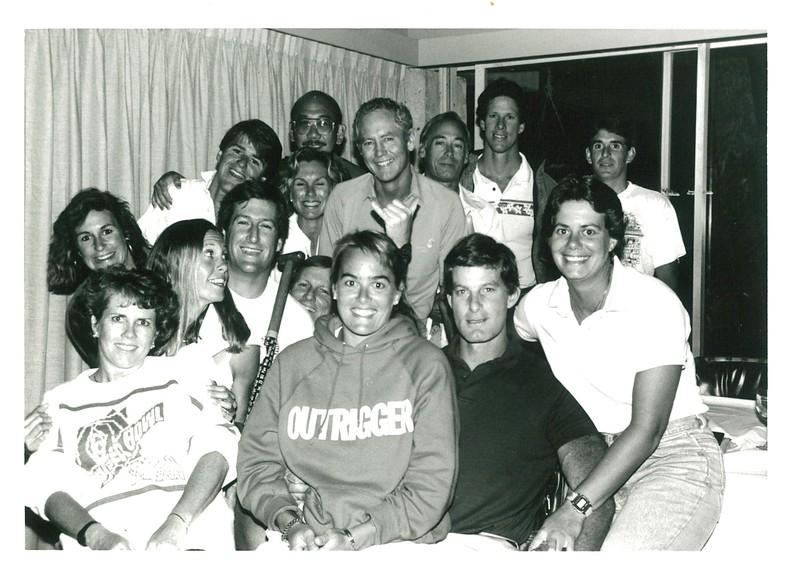 1987 Canoe Racing Coaches