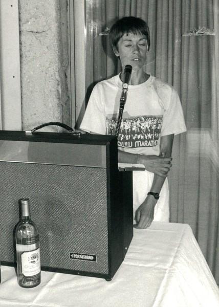 1987 Honolulu Marathon Brunch