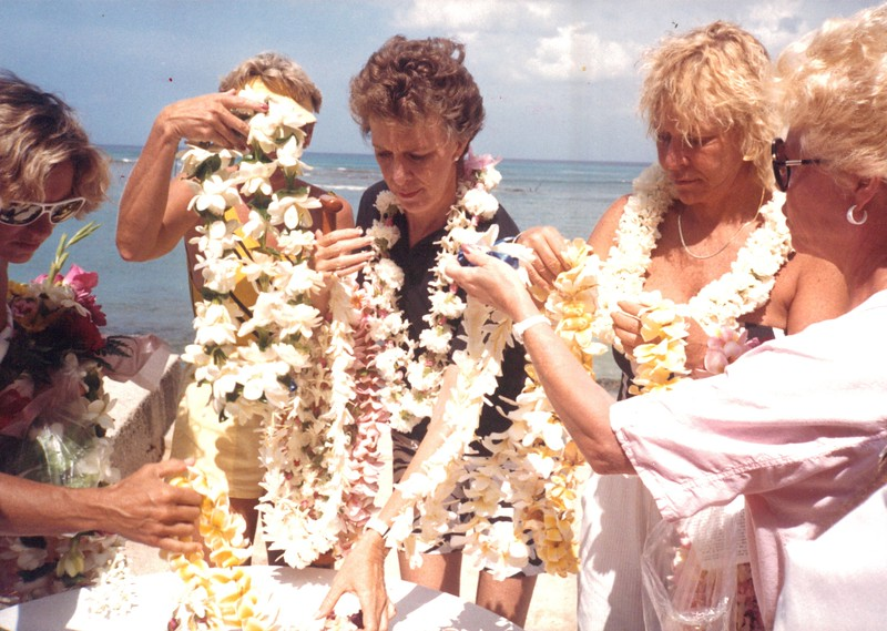1987 Memorial Day Service