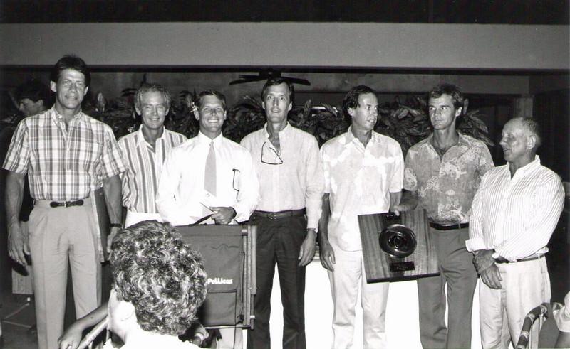 1987 Paddling Awards Party