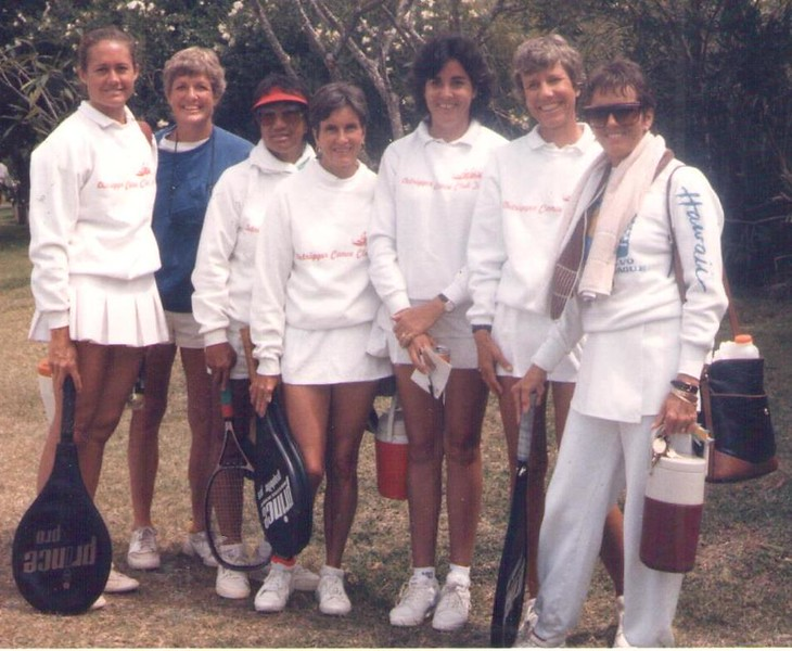 1987 OCC Volvo Tennis Team