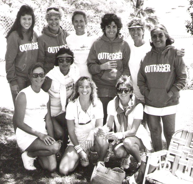 1987 OCC Tennis Team