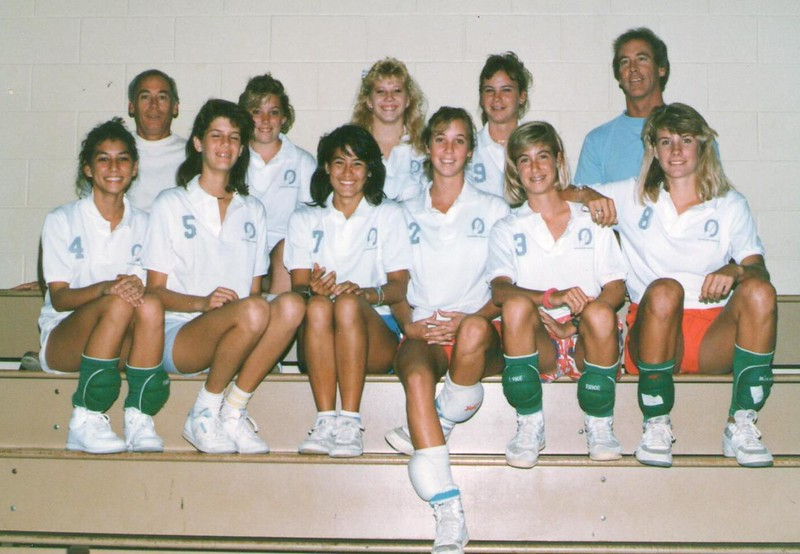 1987 Outrigger Girls Volleyball Team