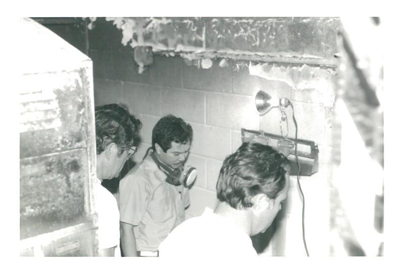 1987 Women's Locker Room Fire
