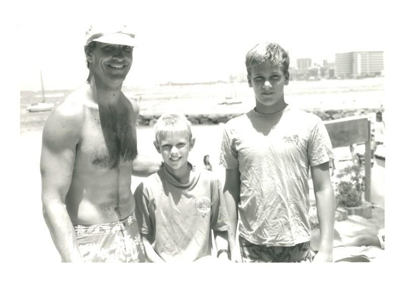 1987 Cline Mann 5K Paddleboard Race
