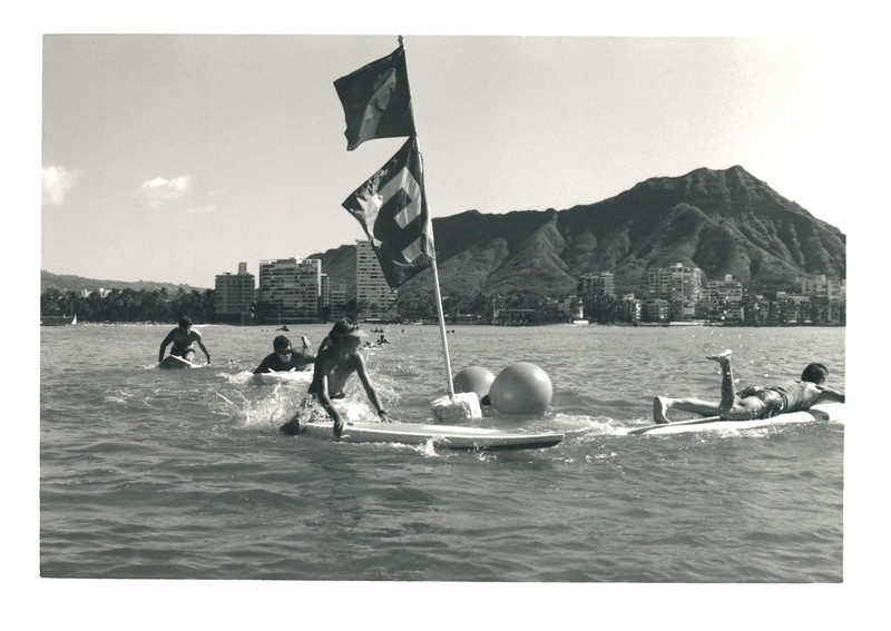 1987 Cline Mann 5K Paddleboard Race
