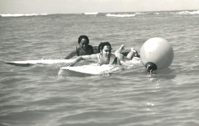 1987 Summer Surf Paddleboard Race
