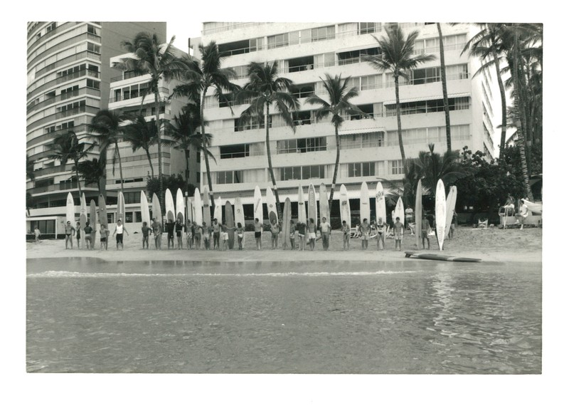 1988 Waikiki  Winter Ocean 10K PB Race