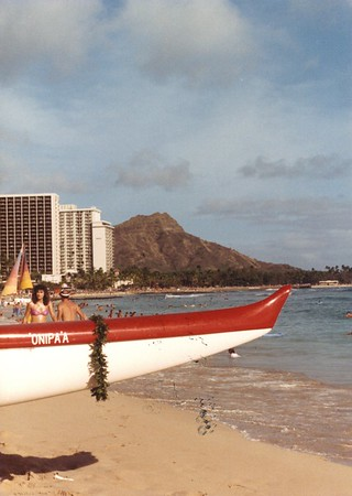 Outrigger Canoe Club 1988
