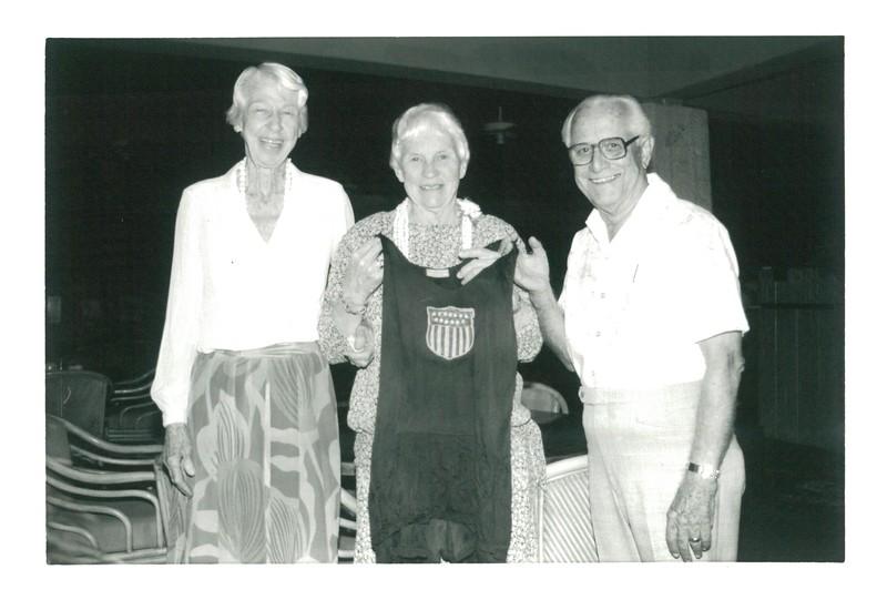 1988 Olympian Donates Suit