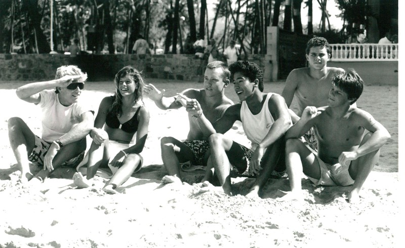 1987 Jr. 'Riggers on the Beach