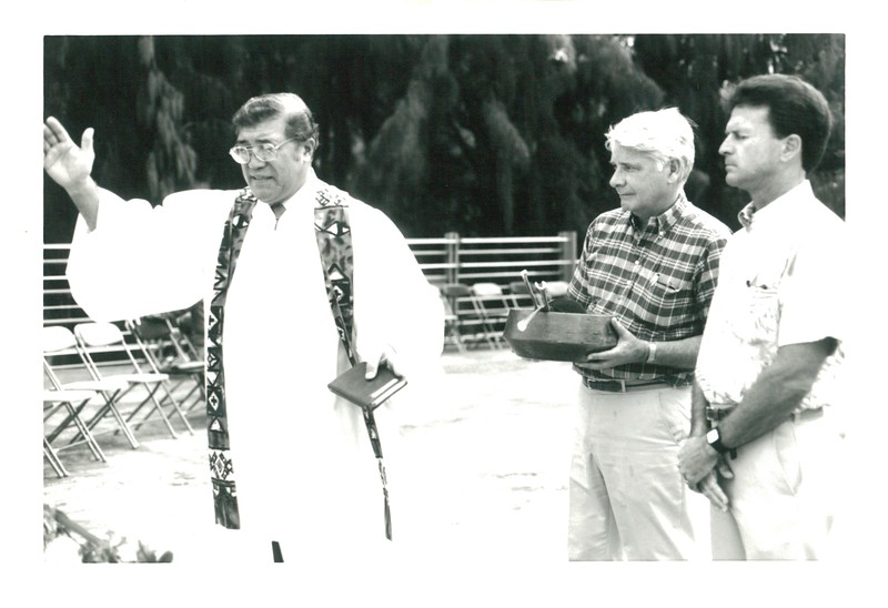 1988 Parking Garage Dedication