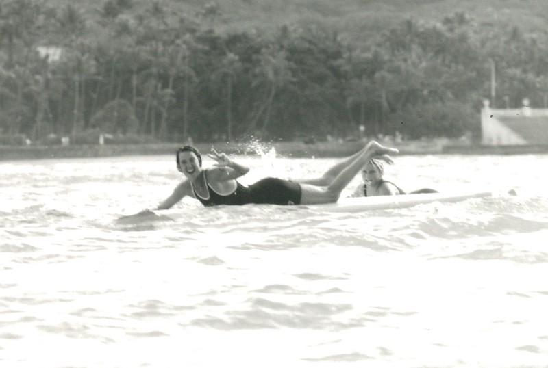 1990 Winter 10K Paddleboard Race