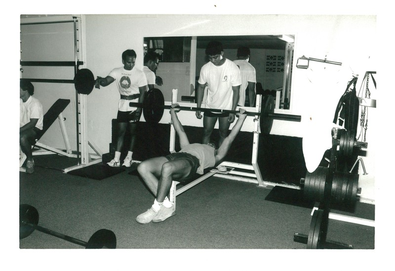 1990 Fitness Center Challenge Board