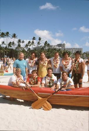 Outrigger Canoe Club 1990