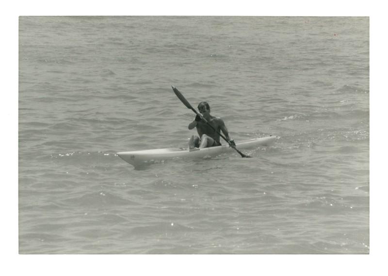 1990 OCC Makai Pier to Kewalo Basin Kayak Race