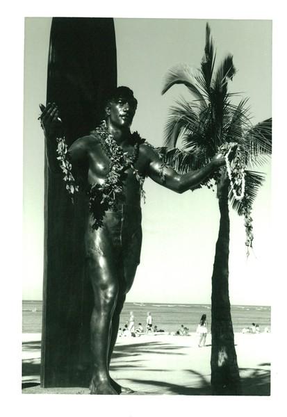 1990 Duke Statute in Waikiki