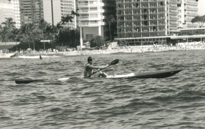 2nd Annual Winter Tri Ocean Kayak/OC1 Race 12-29-1990