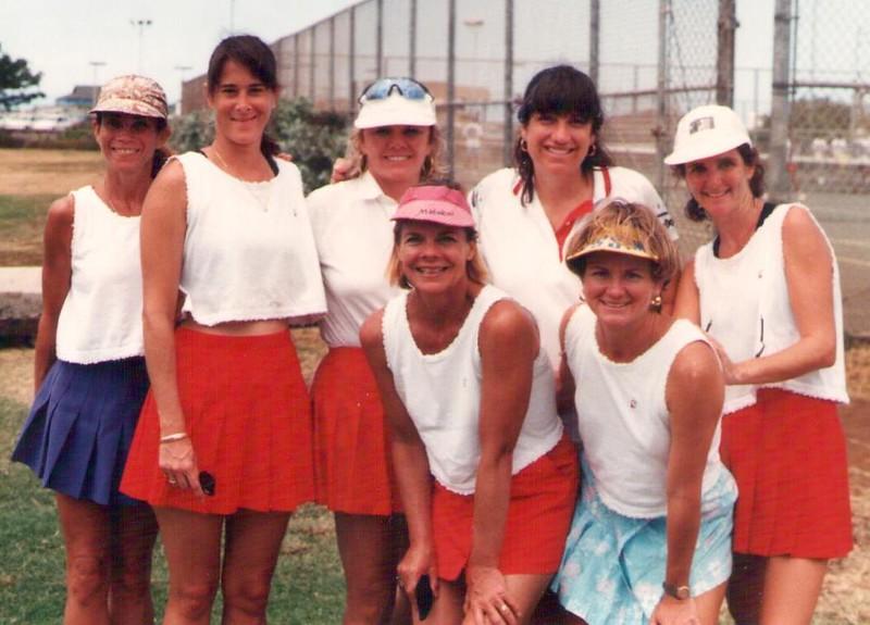 1994 Outrigger Women's Tennis Team
