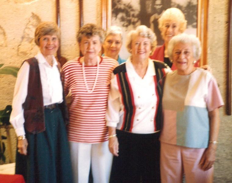 1994 Bridge Club Officers