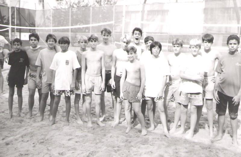 1991 Junior Volleyball Clinic