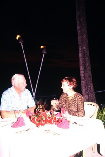 1991 Sunset View From the Koa Lanai