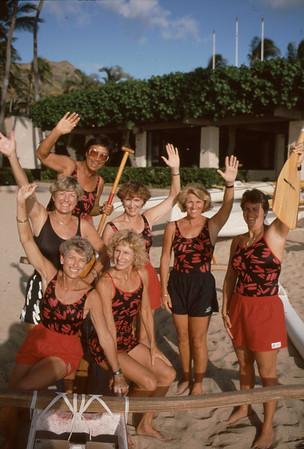 Outrigger Canoe Club 1991