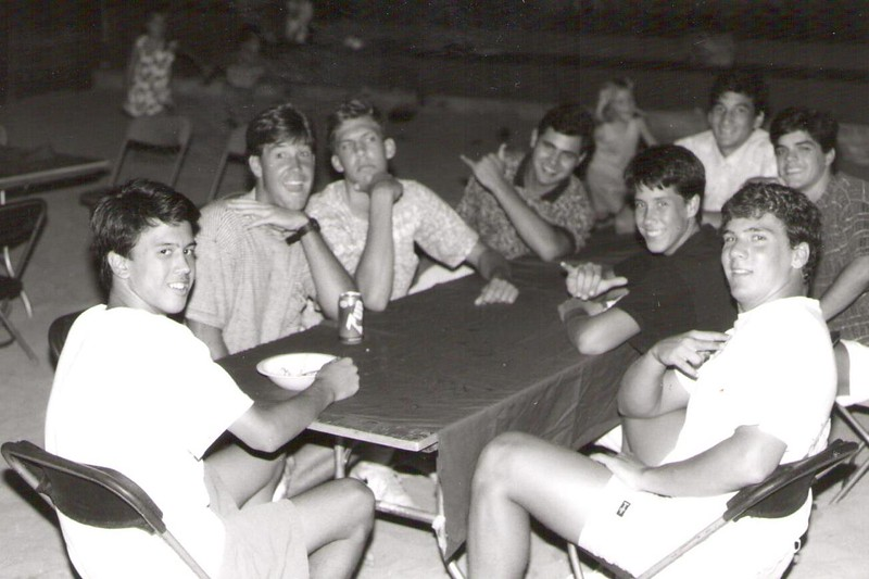 1991 Volleyball Steak Fry and Recognition