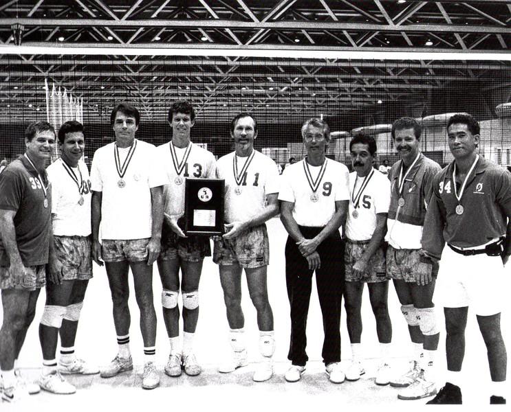 1991 USAV National Champions Men's 35