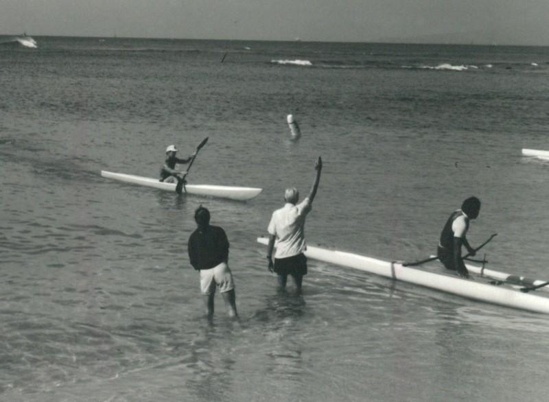 1991 Tri Ocean Surfski and Kayak Race