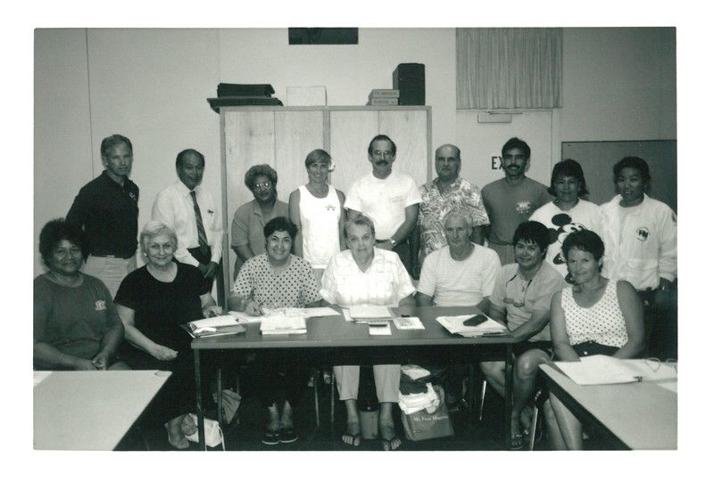 1992 Oahu Hawaiian Canoe Racing Association Board of Directors