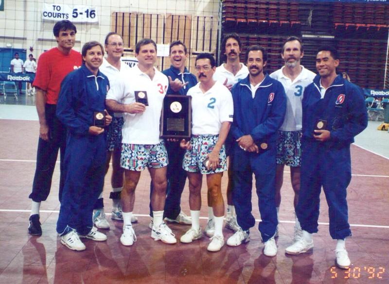 1992 USAV National Championship Men 40