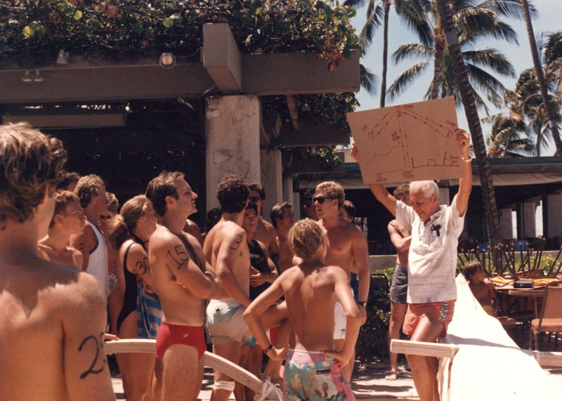 1992 Cline Mann 5K Paddleboard Race