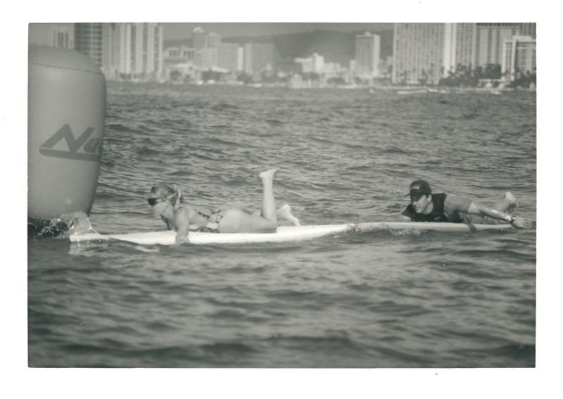 1993 Winter Ocean Paddleboard Race