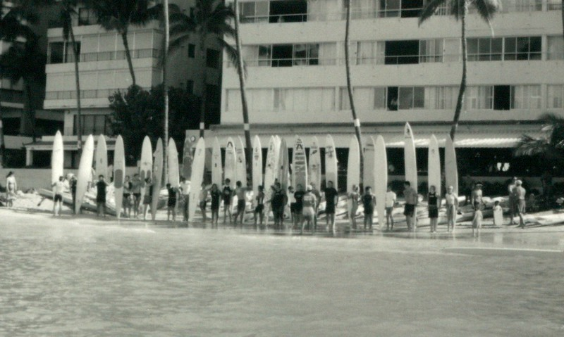 1993 Winter Ocean Paddleboard Race
