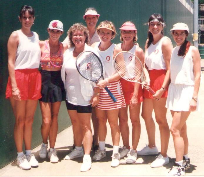 1993 OCC Tennis Team