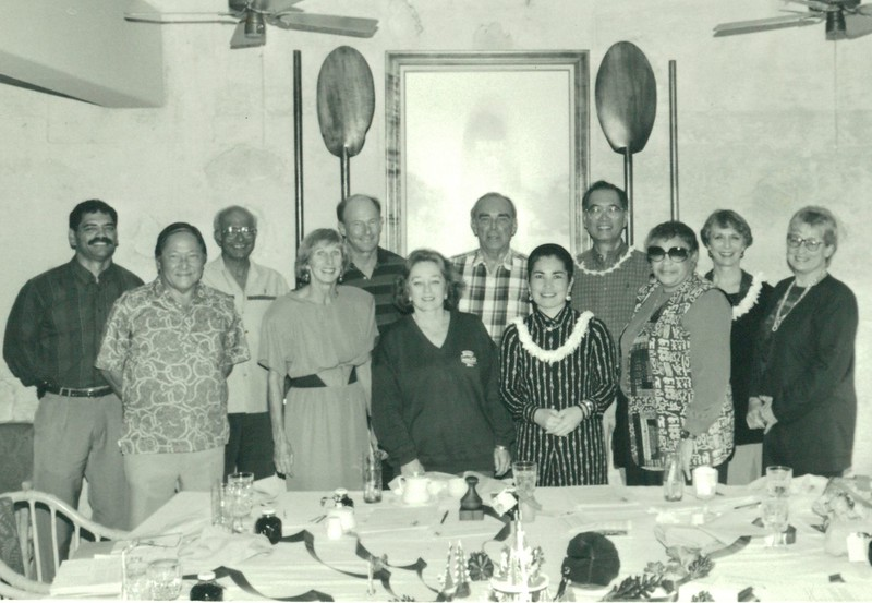 1993-1994 ODKF Board of Directors