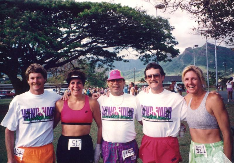 1993 Windward 1/2 Marathon and 5K Run 5-16-1993